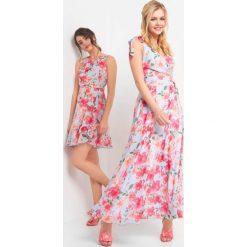 5b44e72756 Zwiewne sukienki w kwiaty maxi - Sukienki damskie - Kolekcja wiosna ...