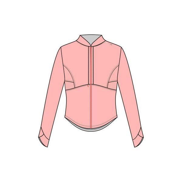 749830a9e15217 Bluza na zamek fitness kardio 500 damska - Brązowe bluzy damskie DOMYOS, bez  wzorów, z elastanu, bez ramiączek, bez kaptura. W wyprzedaży za 59.99 zł.
