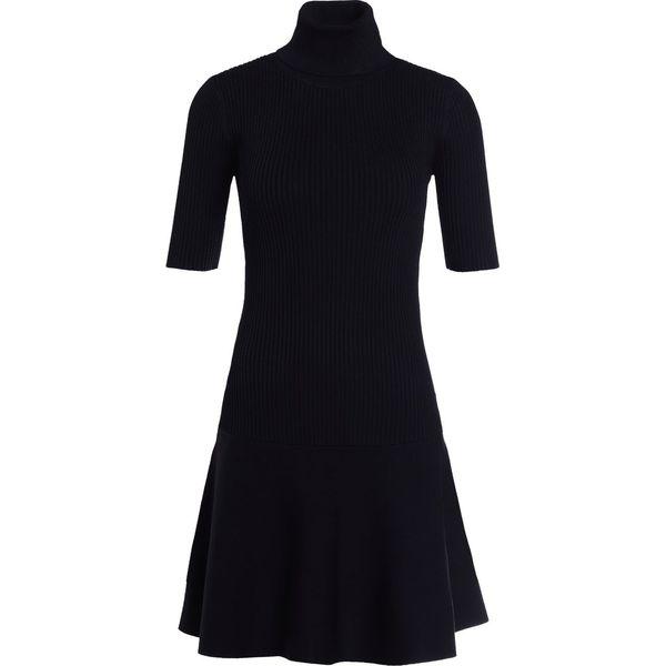 cc306dc6be847 MICHAEL Michael Kors FLARE Sukienka dzianinowa black - Sukienki ...
