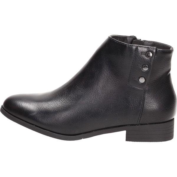Czarne botki damskie M.DASZYŃSKI 1426 F21 ZAM