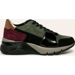 Wyprzedaż buty Tamaris, na sznurówki Kolekcja zima 2020