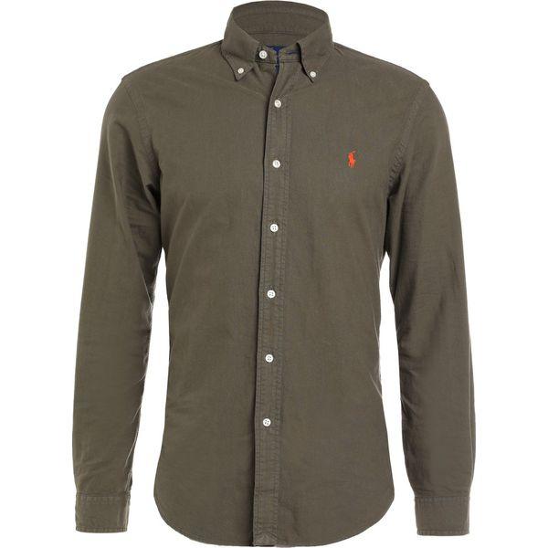 97df129d432528 Polo Ralph Lauren OXFORD SLIM FIT Koszula service green - Zielone koszule  męskie marki Polo Ralph Lauren, m, z bawełny, polo. W wyprzedaży za 367.20  zł.
