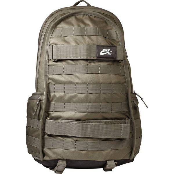 098104fd76696 Nike SB SOLID Plecak medium olive black - Zielone plecaki męskie ...