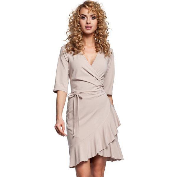 e24b6d6a Sukienka w kolorze beżowym
