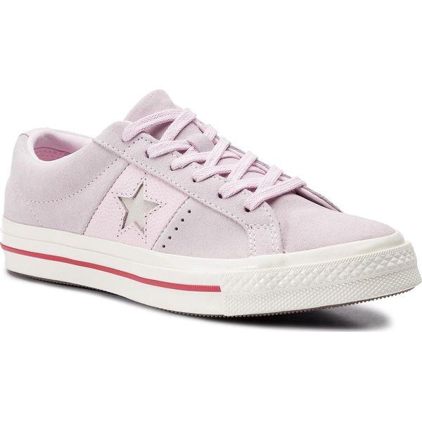 Tenisówki CONVERSE One Star Ox 163194C Pink FoamEnamel RedEgret