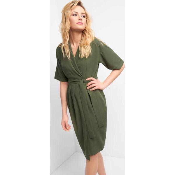 31e4406ac Kopertowa sukienka z wiązaniem - Sukienki damskie Orsay. Za 139.99 ...