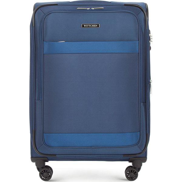 521470739a0b0 Walizka średnia 56-3S-582-90 - Czarne walizki damskie Wittchen ...