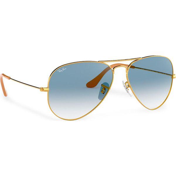 Ray Ban AVIATOR Okulary przeciwsłoneczne goldfarben