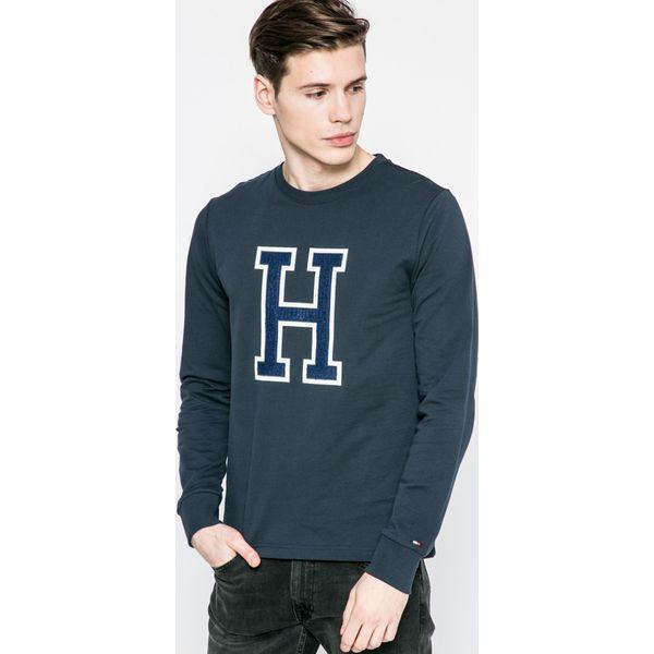7df8fd207ea23 Tommy Hilfiger - Bluza Allen - Szare bluzy męskie marki Tommy ...