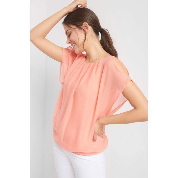 bbb81bcebbb455 Bombkowa bluzka z rozcięciami - Bluzki damskie marki Orsay. Za 89.99 ...