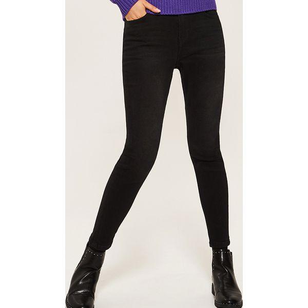 c8008ac078eb Jeansy skinny - Czarny - Czarne jeansy damskie marki House