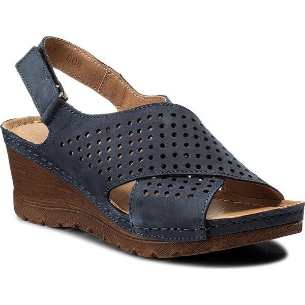 b7041572407c5 Sandały POLLONUS - 5-0931-008 Granat Samuel - Niebieskie sandały ...