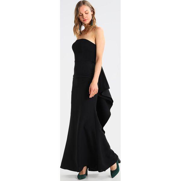 3c47f91df7 Jarlo MIRACLE Suknia balowa black - Czarne sukienki damskie marki ...