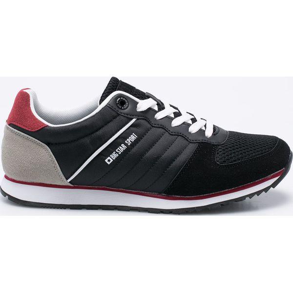 51d94e986460c Big Star - Buty - Szare buty sportowe męskie marki BIG STAR, z materiału,  na sznurówki, Nike Roshe. W wyprzedaży za 139.90 zł.