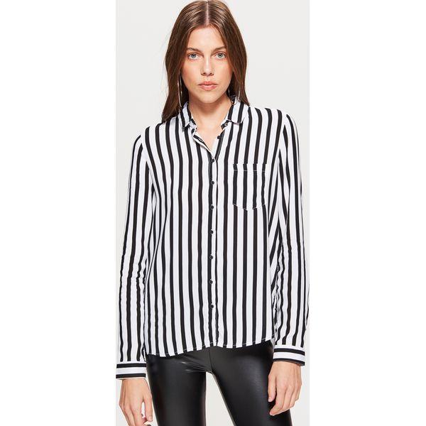 6a02f22157a1 Klasyczna koszula z nadrukiem - Czarny - Koszule damskie marki Cropp ...