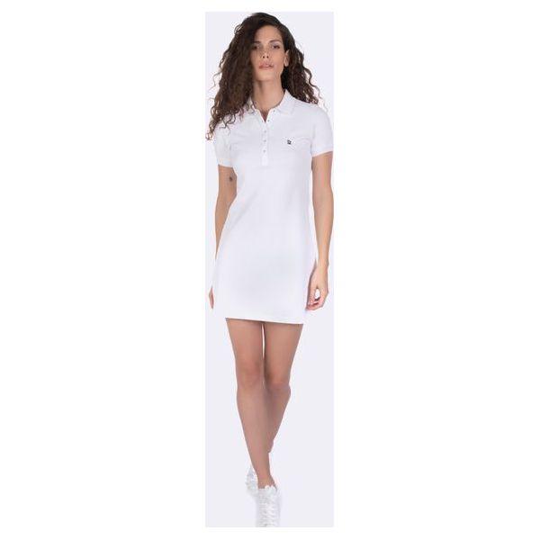 0437fb3dd8fd85 Giorgio Di Mare Sukienka Damska L Biały - Sukienki damskie marki ...