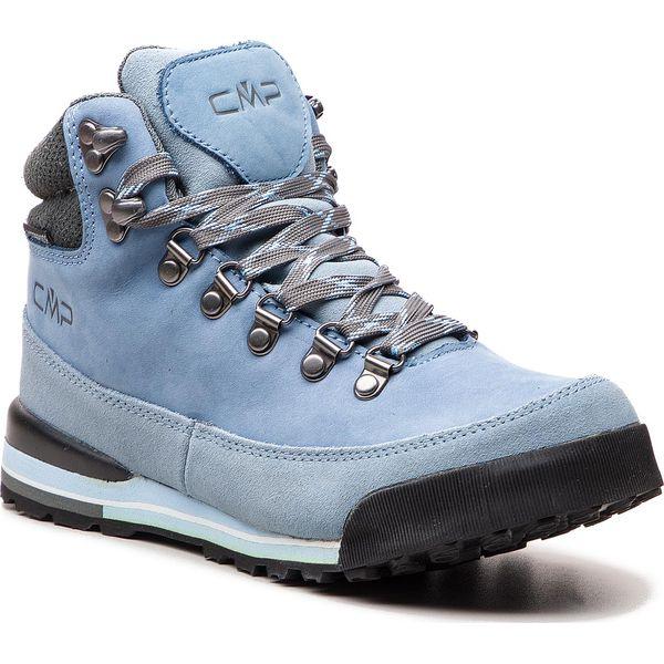1c008aacac8237 Trekkingi CMP - Heka Wmn Hiking Shoes WP 3Q49556 Azurro - Obuwie ...