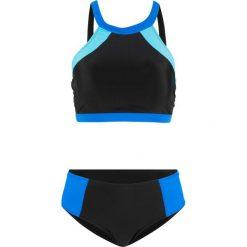 19e9b8a493cc56 Stroje kąpielowe damskie. 79.99 zł. Bikini (2 części) bonprix  czarno-niebiesko- turkusowy. Czarne bikini bonprix,