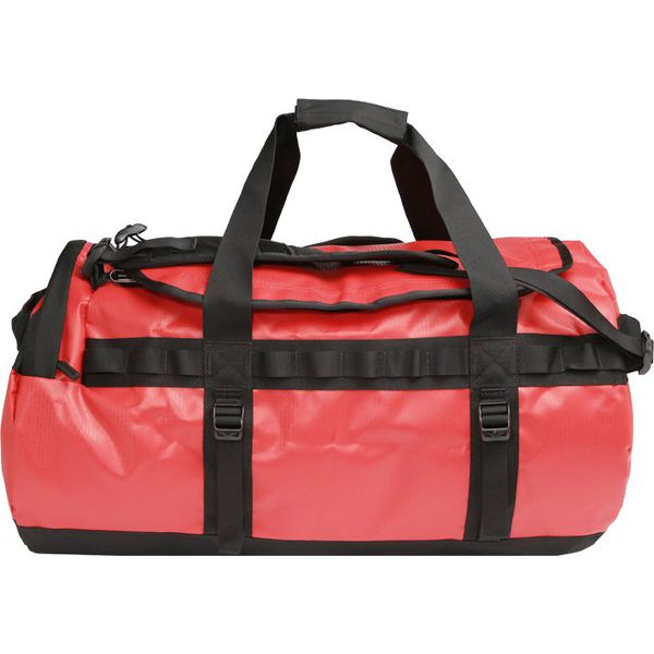 55fc4f0cf6666 The North Face BASE CAMP DUFFEL M Torba podróżna red/black - Torby ...