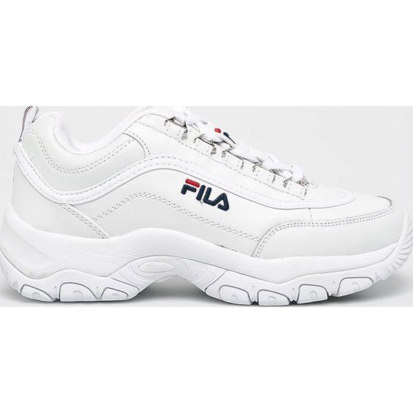 Białe obuwie sportowe damskie Fila, bez zapięcia
