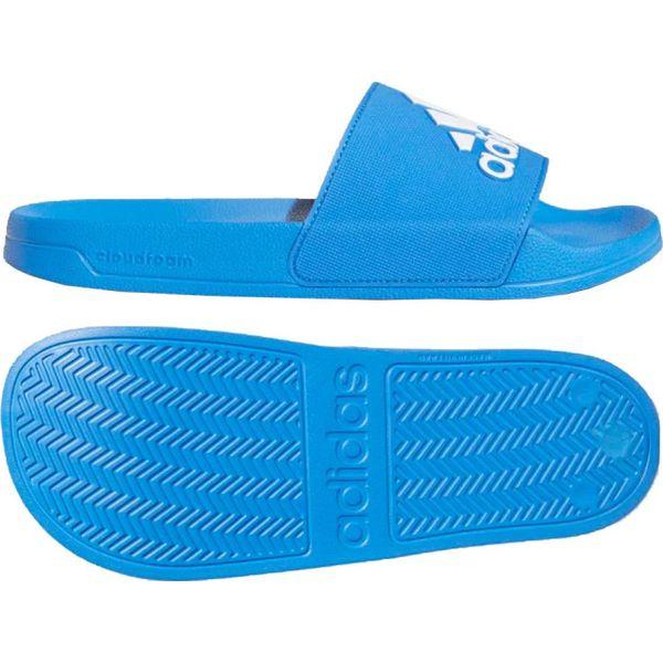 Klapki adidas Adilette Shower F34769 niebieskie