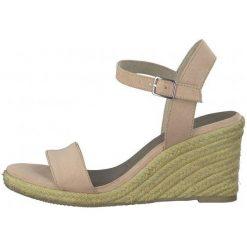 94709f483c519 Włoskie sandały na koturnie - Sandały damskie - Kolekcja wiosna 2019 ...