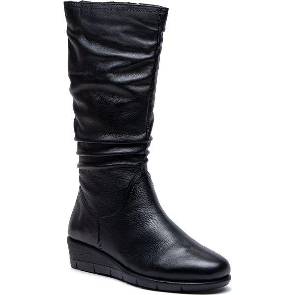 7b3c2a4ba07a8 Kozaki CAPRICE - 9-25545-31 Black Nappa 022 - Czarne kozaki damskie ...