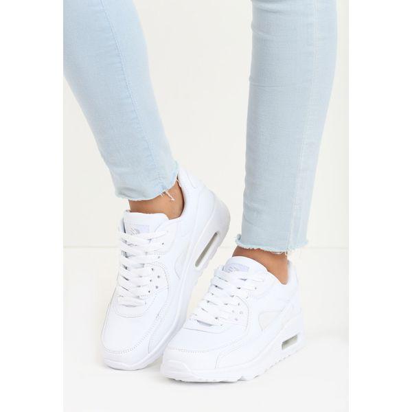 5cde7489c1660 Białe Buty Sportowe Classic Nilda - Białe obuwie sportowe damskie ...