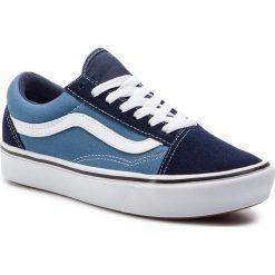 Niebieskie obuwie damskie Vans Kolekcja zima 2020 Sklep