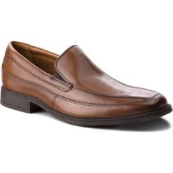 Półbuty CLARKS Tilden Way 261315767 Tan Leather
