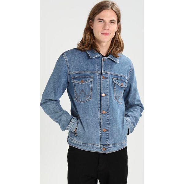 0e319772a68f0 Wrangler Kurtka jeansowa midstone - Niebieskie kurtki męskie marki ...