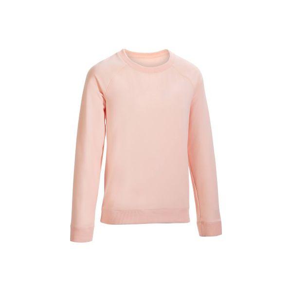 c9745ae655c367 Bluza Gym & Pilates 500 damska - Czerwone bluzy damskie DOMYOS, s, bez  wzorów, z bawełny, bez ramiączek, bez kaptura. W wyprzedaży za 19.99 zł.