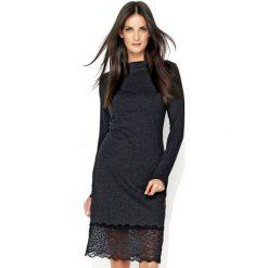 77d635cddb Klasyczna sukienka z koronką n131. Sukienki damskie marki Nunu. Za 139.00  zł.
