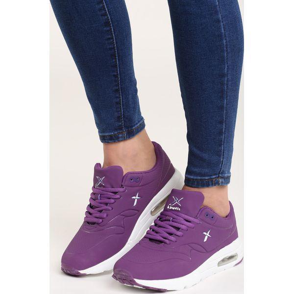 5a7877b6 Fioletowe Buty Sportowe Bianna - Fioletowe obuwie sportowe damskie marki  Born2be, z materiału, z okrągłym noskiem, na sznurówki. Za 59.99 zł.
