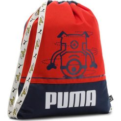 5813f7fe736cc Plecak PUMA - Minions Gym Sack 75043 01 Peacoat Flame Scarlet. Plecaki  damskie marki