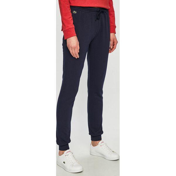 60250e0923d495 Lacoste - Spodnie - Spodnie materiałowe damskie Lacoste. W ...