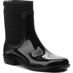 eb08ec9b7410e Kalosze TOMMY HILFIGER - Tommy Knit Rain Boot FW0FW02940 Black 990. Kalosze  damskie marki Tommy