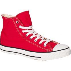 Czerwone trampki i tenisówki męskie Converse, kolekcja