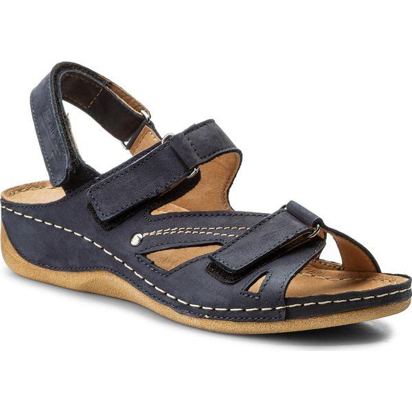 5b53d0af04bf5 Sandały POLLONUS - 5-0773-001 Granat Samuel - Niebieskie sandały ...