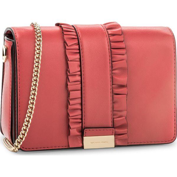 41af774f0ea8e Torebka MICHAEL KORS - Jade 30H7GJ4C6L Bright Red - Czerwone torebki  wizytowe damskie marki Michael Kors. W wyprzedaży za 759.00 zł.