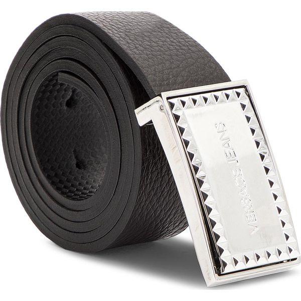 7289f508d05d3 Pasek Męski VERSACE JEANS - D8YSBF05 70867 MI7 - Czarne paski męskie marki Versace  Jeans