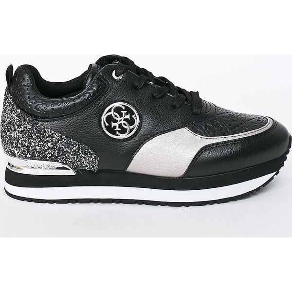 bc56c45f38501 Guess Jeans - Buty - Czarne obuwie sportowe damskie marki Guess ...