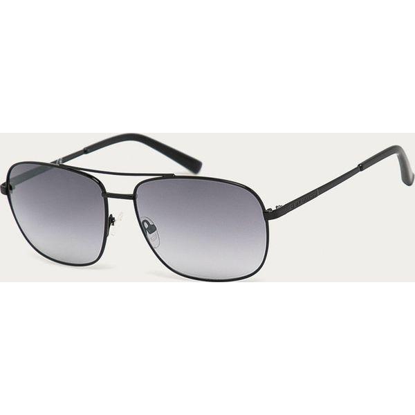 Okulary przeciwsłoneczne męskie Guess Jeans, prostokątne