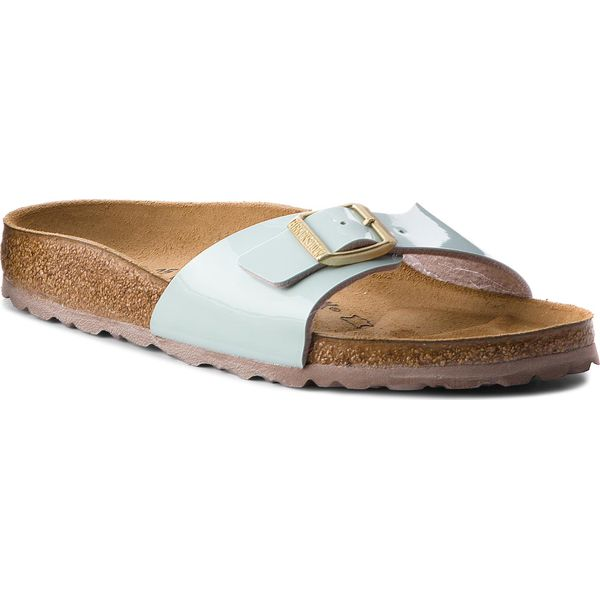 baf3924b49a4 Klapki BIRKENSTOCK - Madrid 1008500 Two Tone Water Cream ...