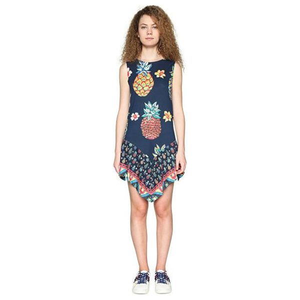 15c572e7de Desigual Sukienka Damska Vest Rouses 18Swvka5 5000 (Rozmiar L ...