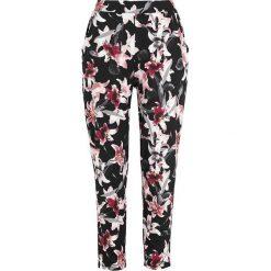 Spodnie kwiaty Spodnie damskie Kolekcja wiosna 2020