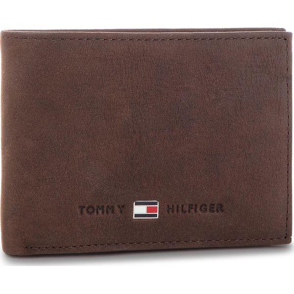 e2665651d68b7 Duży Portfel Męski TOMMY HILFIGER - Johnson Mini CC Flap AM0AM00662 041 -  Portfele męskie marki Tommy Hilfiger. Za 249.00 zł.