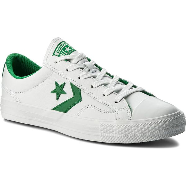 3d6e35a43e33b Trampki CONVERSE - Star Player Ox 159738C White/Green/White ...
