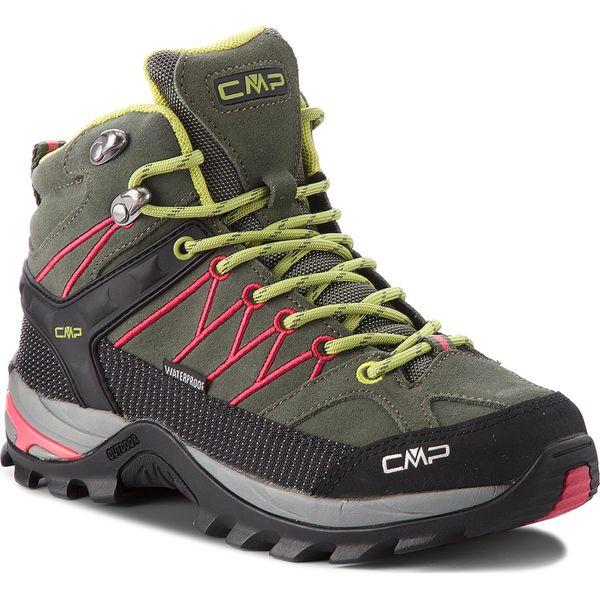 b6f28ec7fe8a66 Trekkingi CMP - Rigel Mid Wmn Trekking Shoes Wp 3Q12946 Kaki/Corallo ...