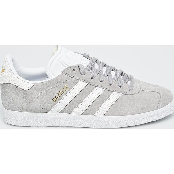 Buty sportowe damskie Adidas szare bez wzorów